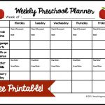 Free Weekly Lesson Plan Template for Excel 2007 – 2016